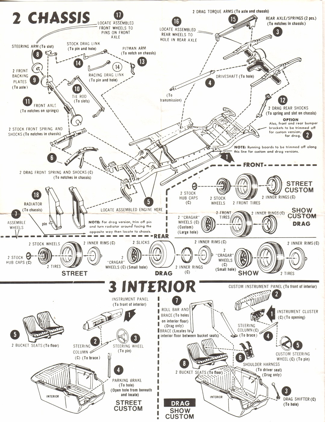 Photo 37 Chevy Coupe Amt Ertl Instructions Pg2