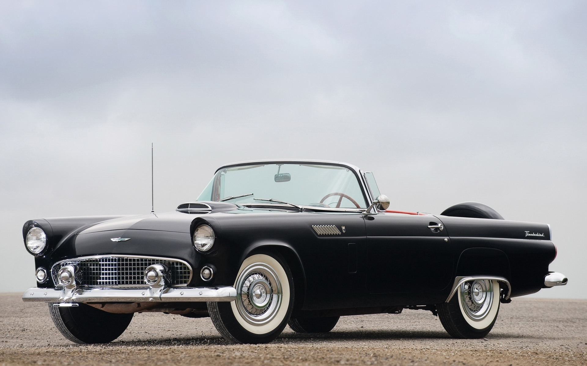 1 1956 Ford Thunderbird HD Wallpapers Background Images