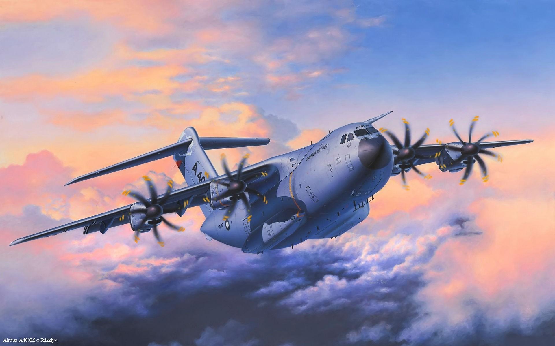 Airbus A400M Fond Dcran HD Arrire Plan 1920x1200