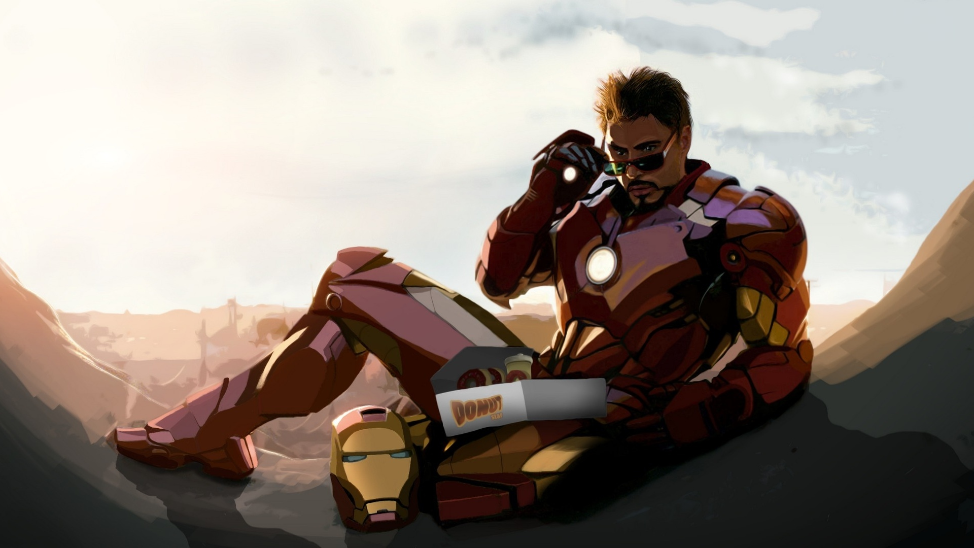 Stark Industries Wallpaper 3d
