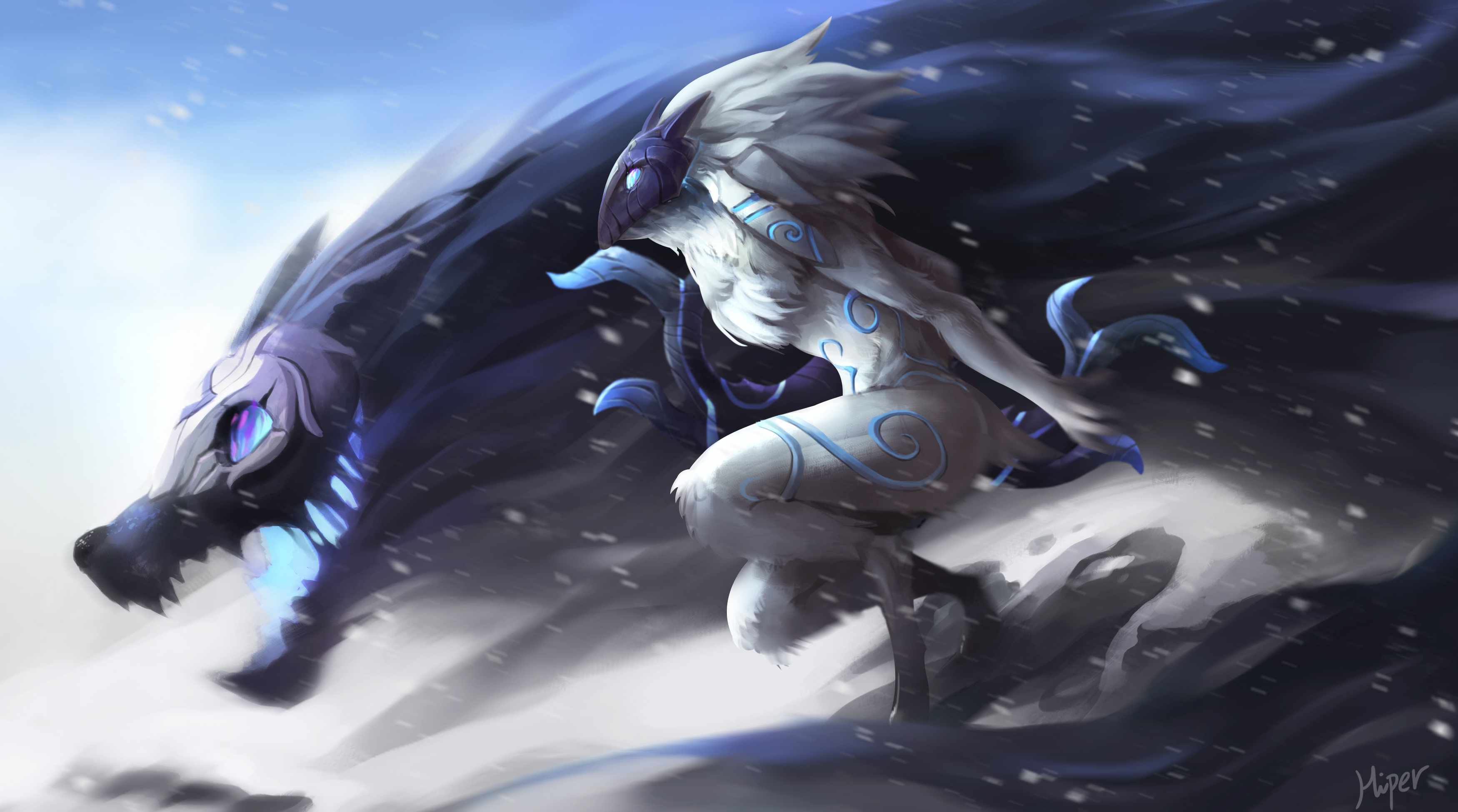 17 Kindred League Of Legends HD Wallpapers Background Images Wallpaper Abyss