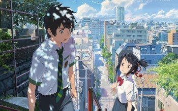 180 4k Ultra Hd Your Name Wallpapers Background Images