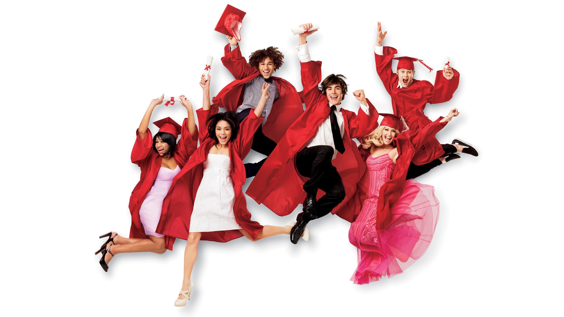 High School Musical 3 Senior Year Hd Wallpaper