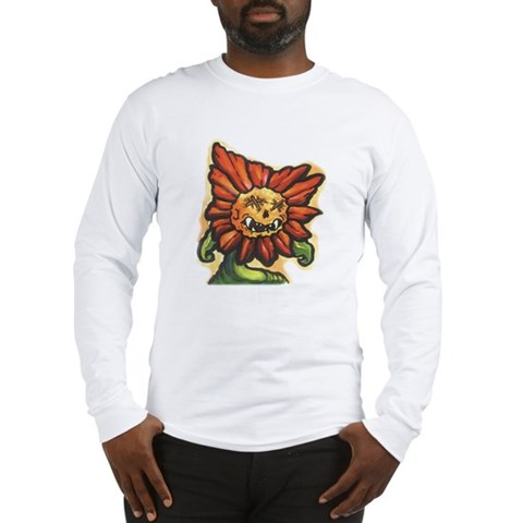 Sunflower Tattoo Long Sleeve T-Shirt