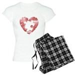 PIECE OF MY HEART Women's Light Pajamas