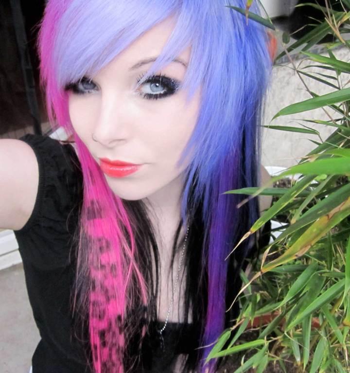30 marvellous Scene Girls With Purple Hair – wodip