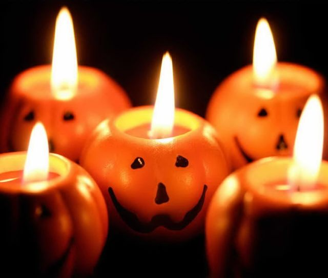 Candles Images Halloween Candles Hd Wallpaper And Background Photos