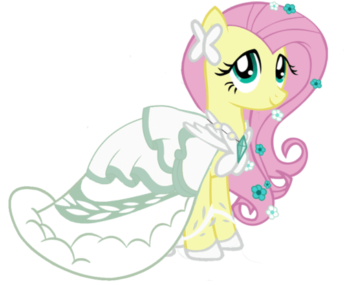 wedding fluttershy hd wallpaper and background images in the my
