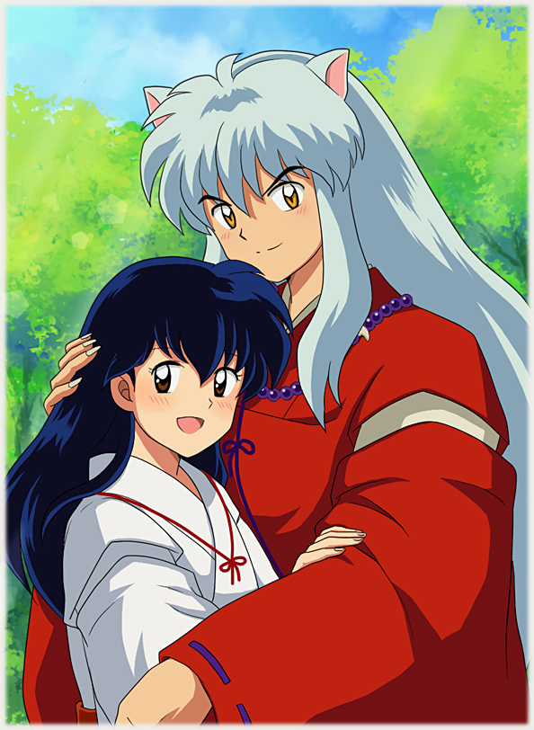 Image result for inuyasha and kagome