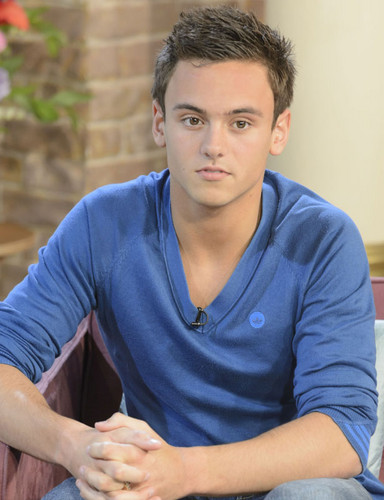 Tom Daley Images Tom Appears On This Morning 040113