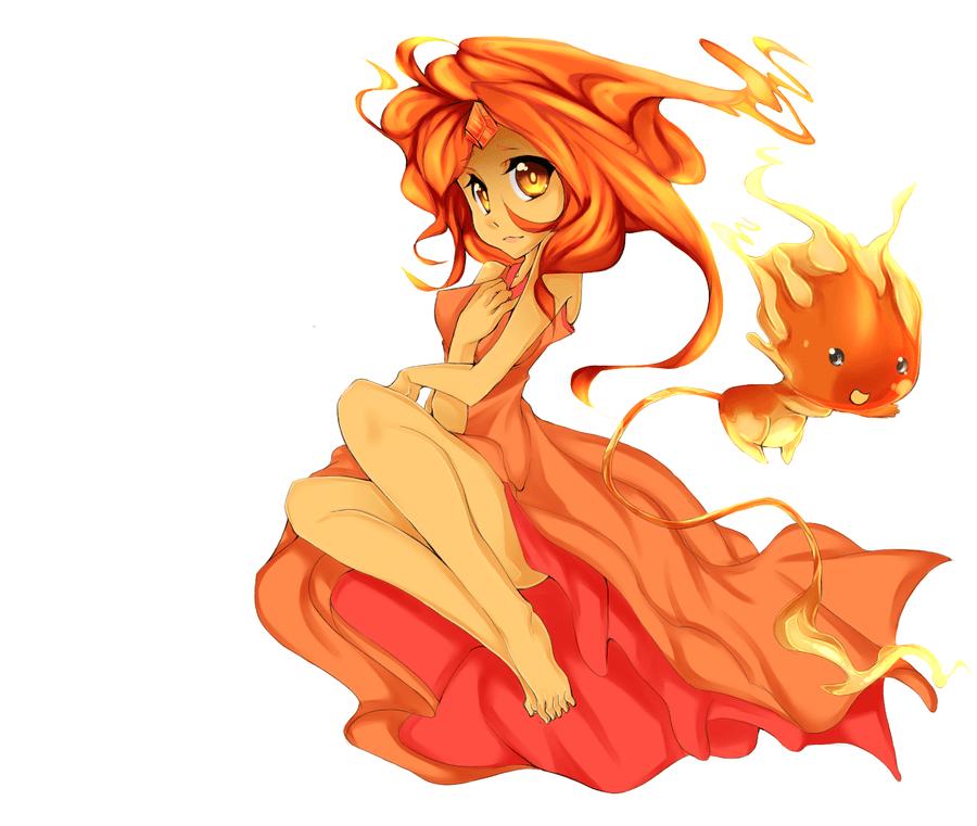 And Princess Finn Flame Chibi