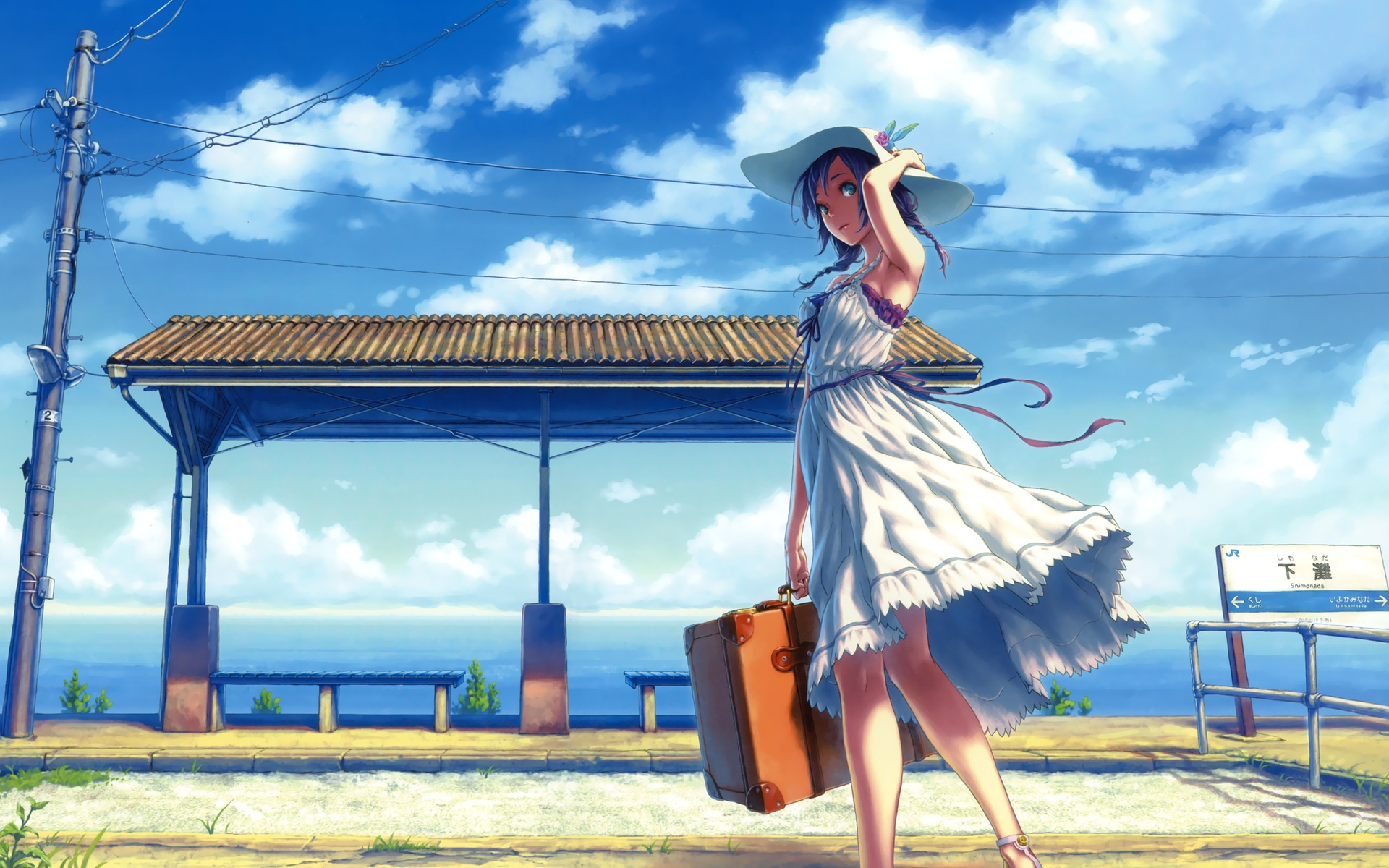 Image result for anime summer picture