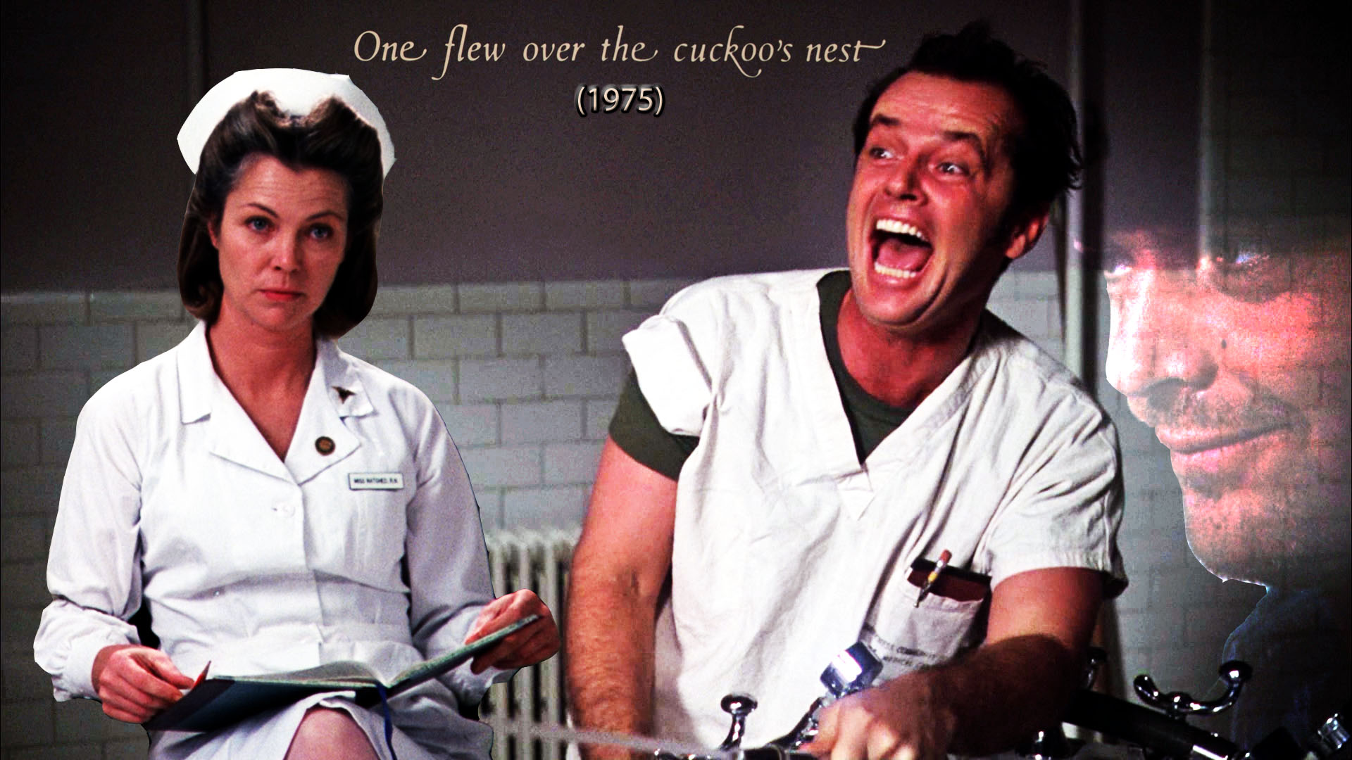 a movie analysis of one flew over the cuckoos nest Psychological connotations in one flew over the cuckoo's nest we feel that one flew over the cuckoo's nest is filled with many psychological connotations this movie is set in a mental hospital where mcmurphy was admitted to be psychologically evaluated because of violent behavior.