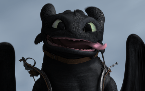 Toothless ★ - toothless-the-dragon Photo