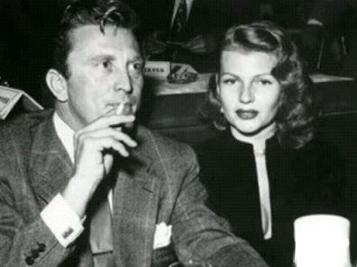 Image result for kirk douglas and rita hayworth