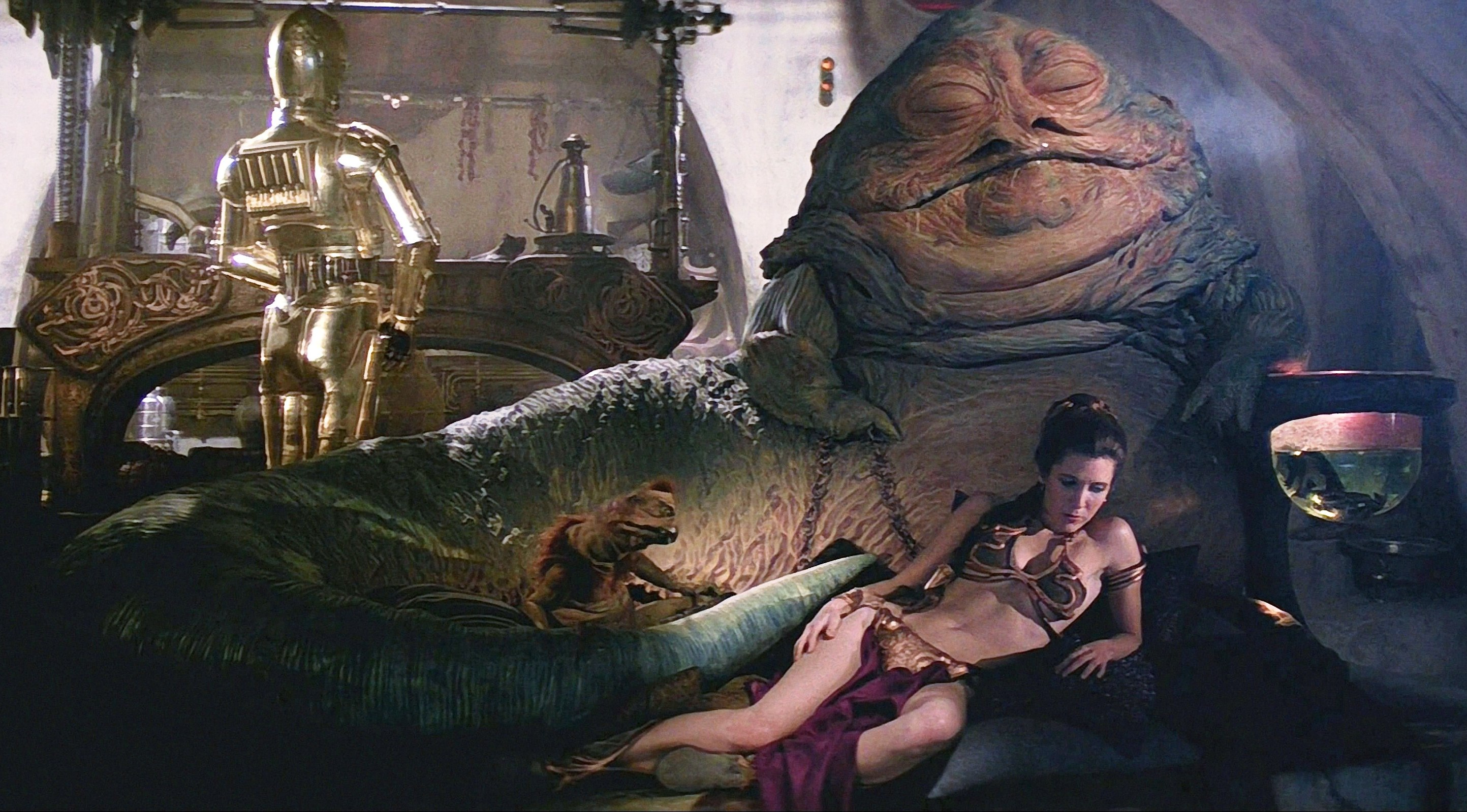 Image result for return of the jedi jabba the hutt