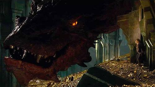 Image result for the hobbit smaug and bilbo