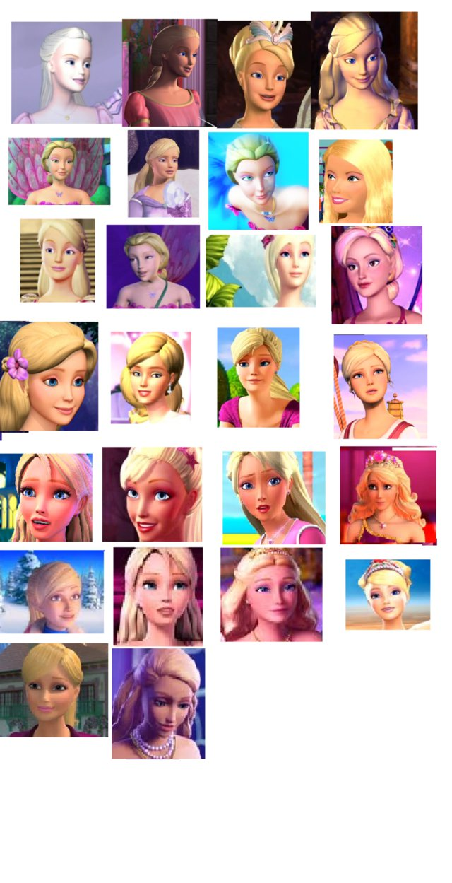 barbie in every movie barbie movies fan art 36718021 fanpop