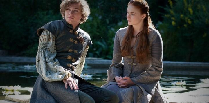 Sansa Catelyn violette cachemire