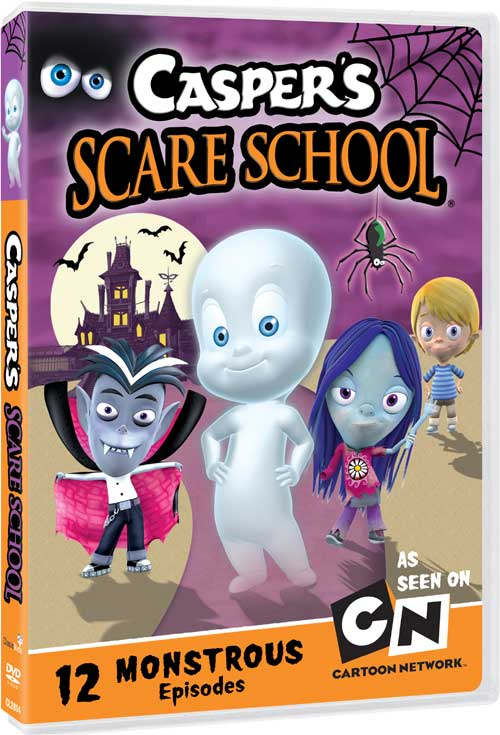 Casper S Scare School Dvd