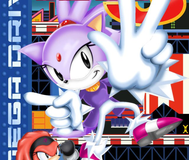 Sonic The Hedgehog Images Blaze The Cat 3 Hd Wallpaper And Background Photos