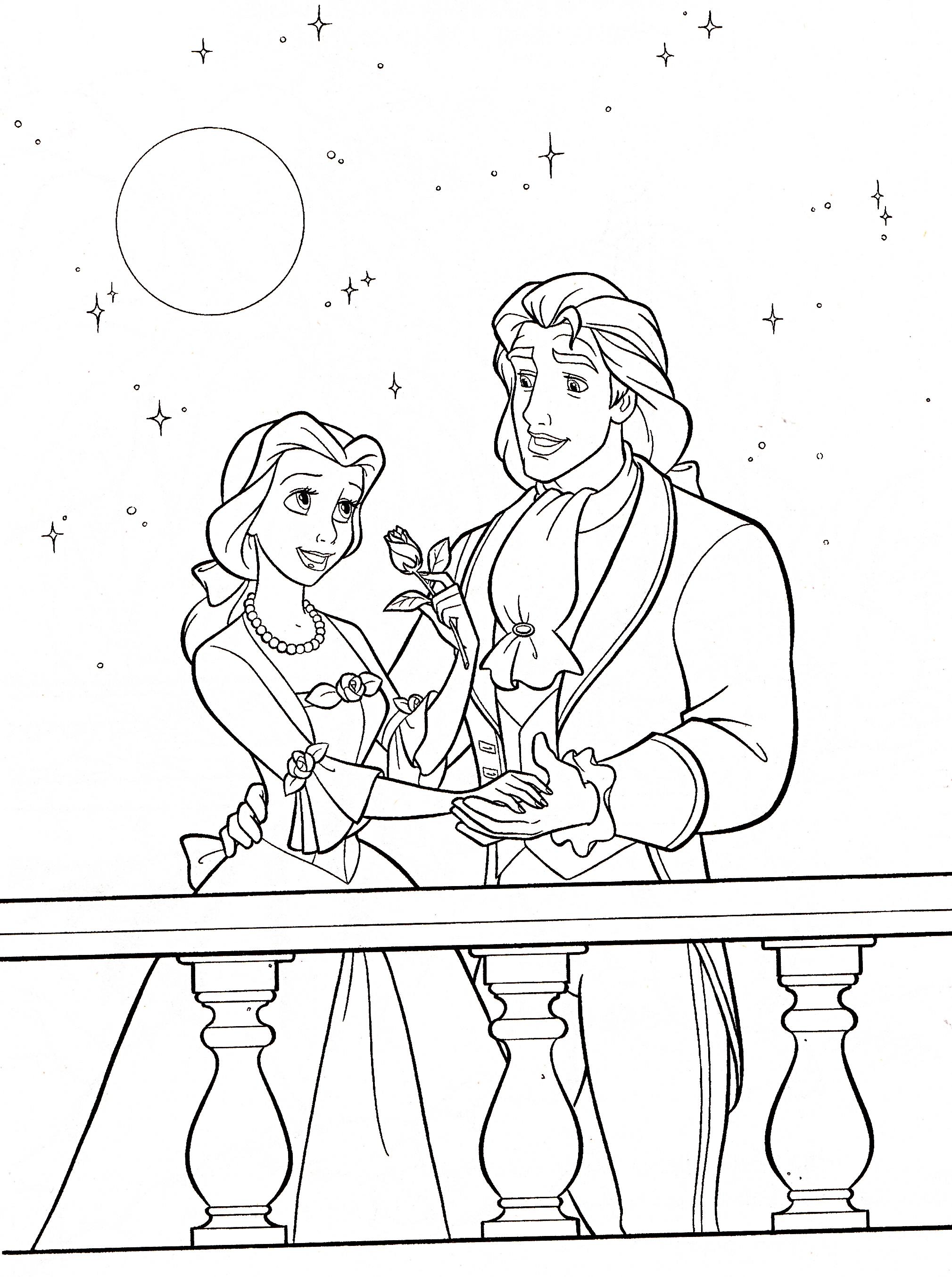 Disney princess coloring pages belle - Princess Belle Coloring Pages Games Characters Images Walt Printable Disney Princess Belle Coloring