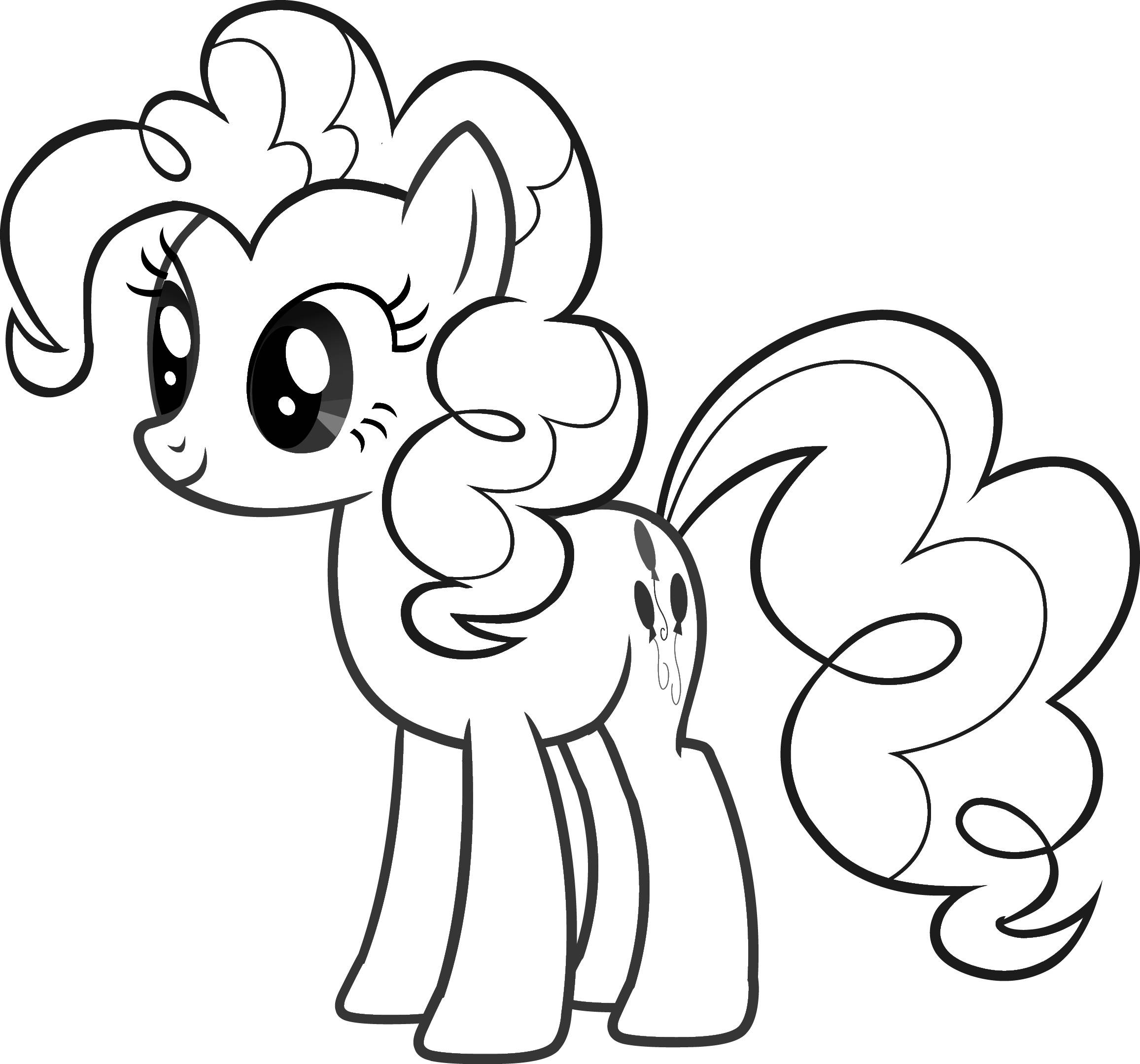 My Little Pony Colouring Sheets