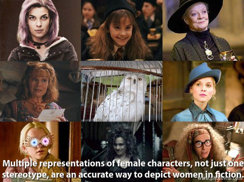 Female Characters of Harry Potter - How to accurately depict women in fiction