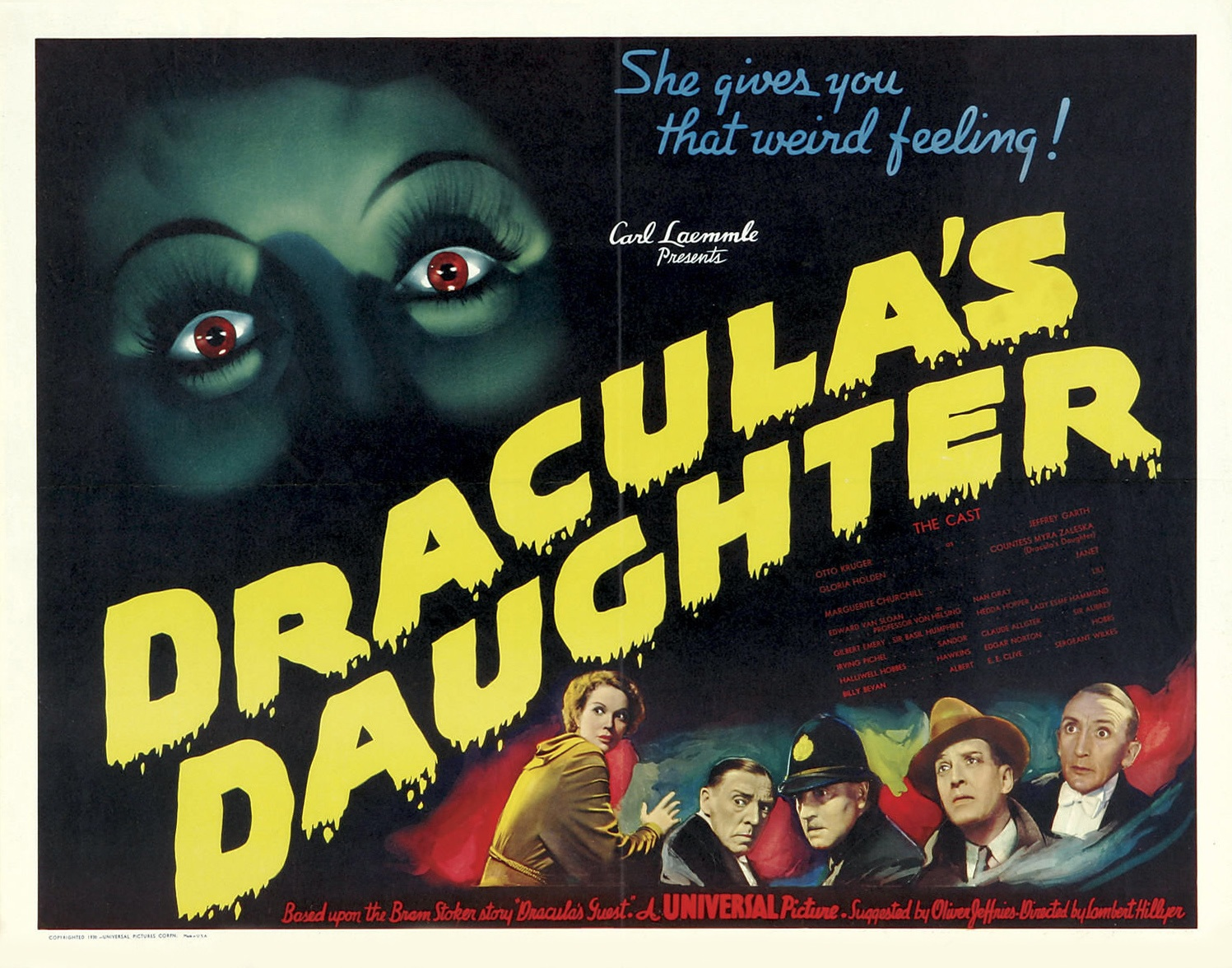 Image result for dracula's daughter she gives you that weird feeling