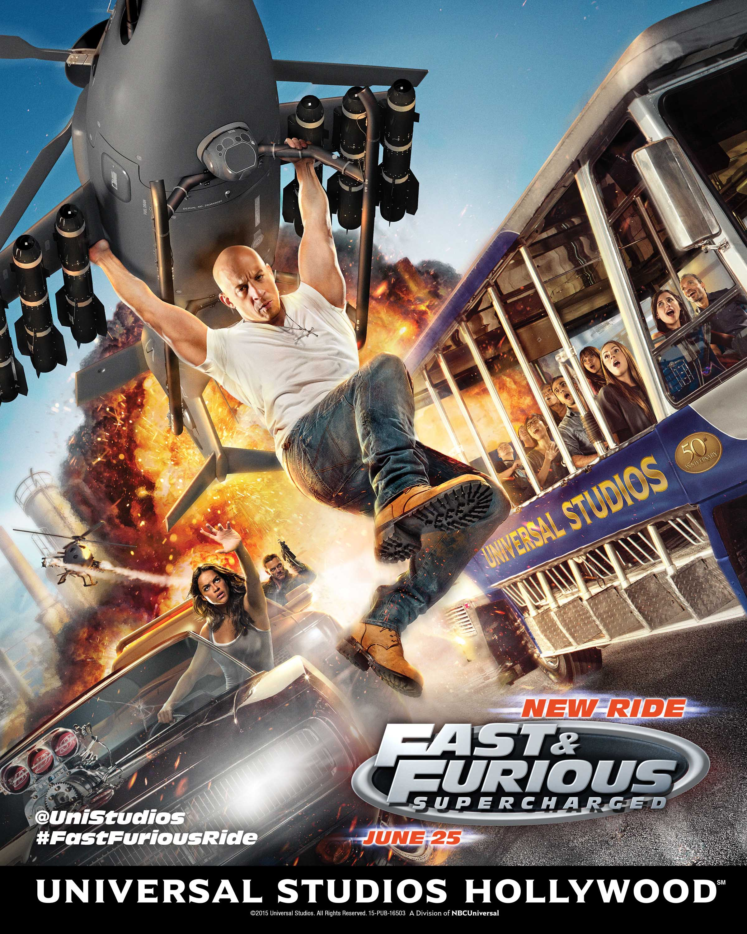 Fast And Furious Supercharged Poster Vin Diesel Vin