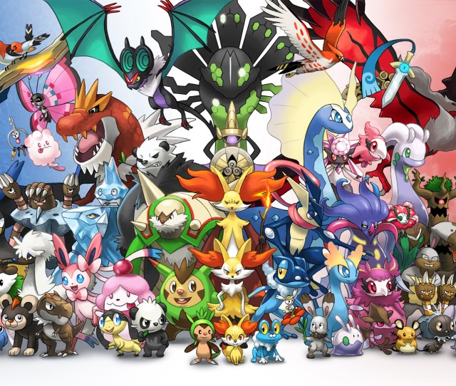Pokemon Images Pokemon X And Y Kalos Hd Wallpaper And Background Photos