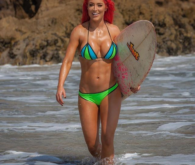 Eva Marie Images Surfing Wallpaper And Background Photos