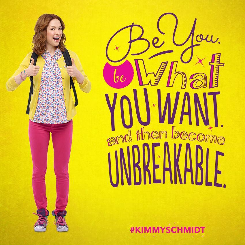 Risultati immagini per the unbreakable kimmy schmidt poster 1 season