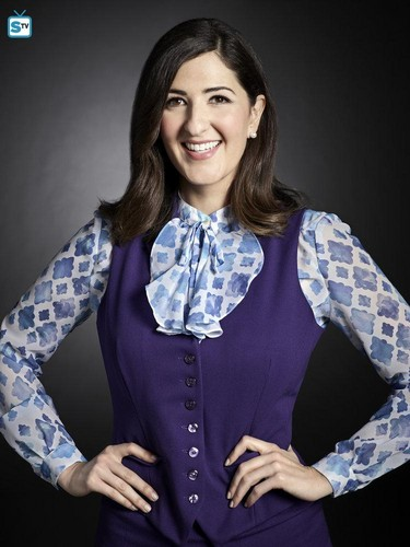 The Good Place wallpaper probably containing a blouse, an outerwear, and a shirtwaist titled The Good Place - Season 1 Portrait - D'Arcy Carden as Janet