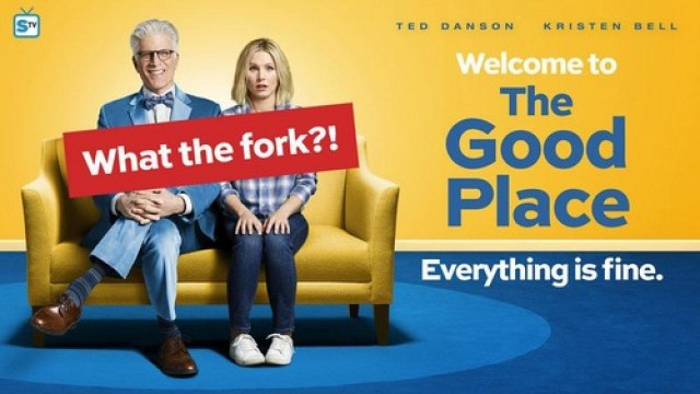 The Good Place Season 1 Poster What the fork the good place 39907754 500 282 - Favoritos de Janeiro