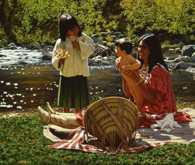 Native Pride Wallpaper Called Little Sister Por David Nordahl