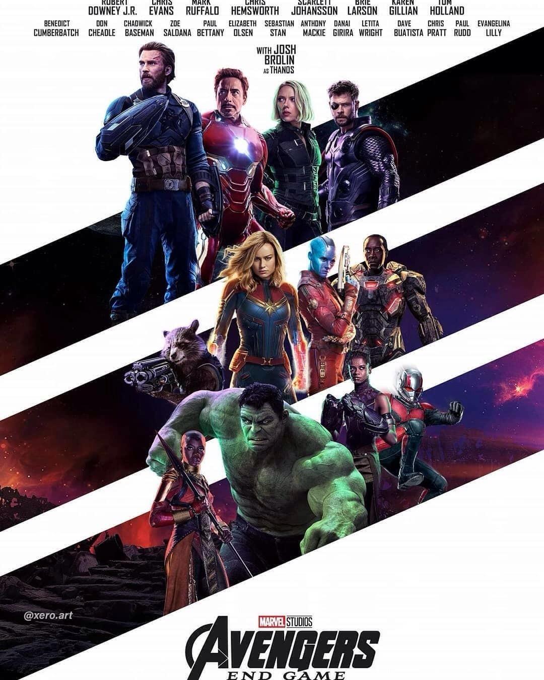avengers endgame 2019 movie poster