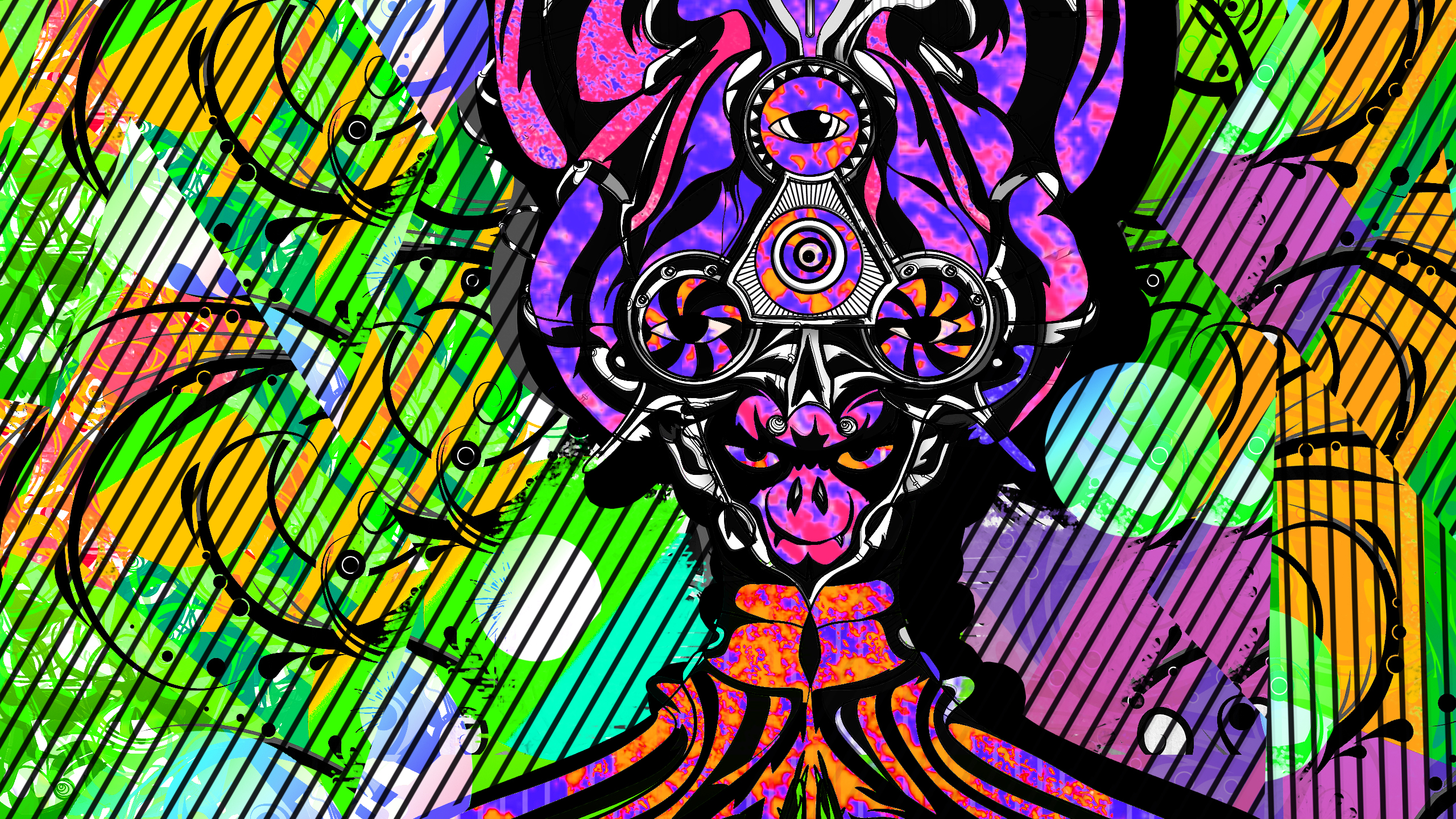 Psychedelic Hd Wallpaper 1920x1080