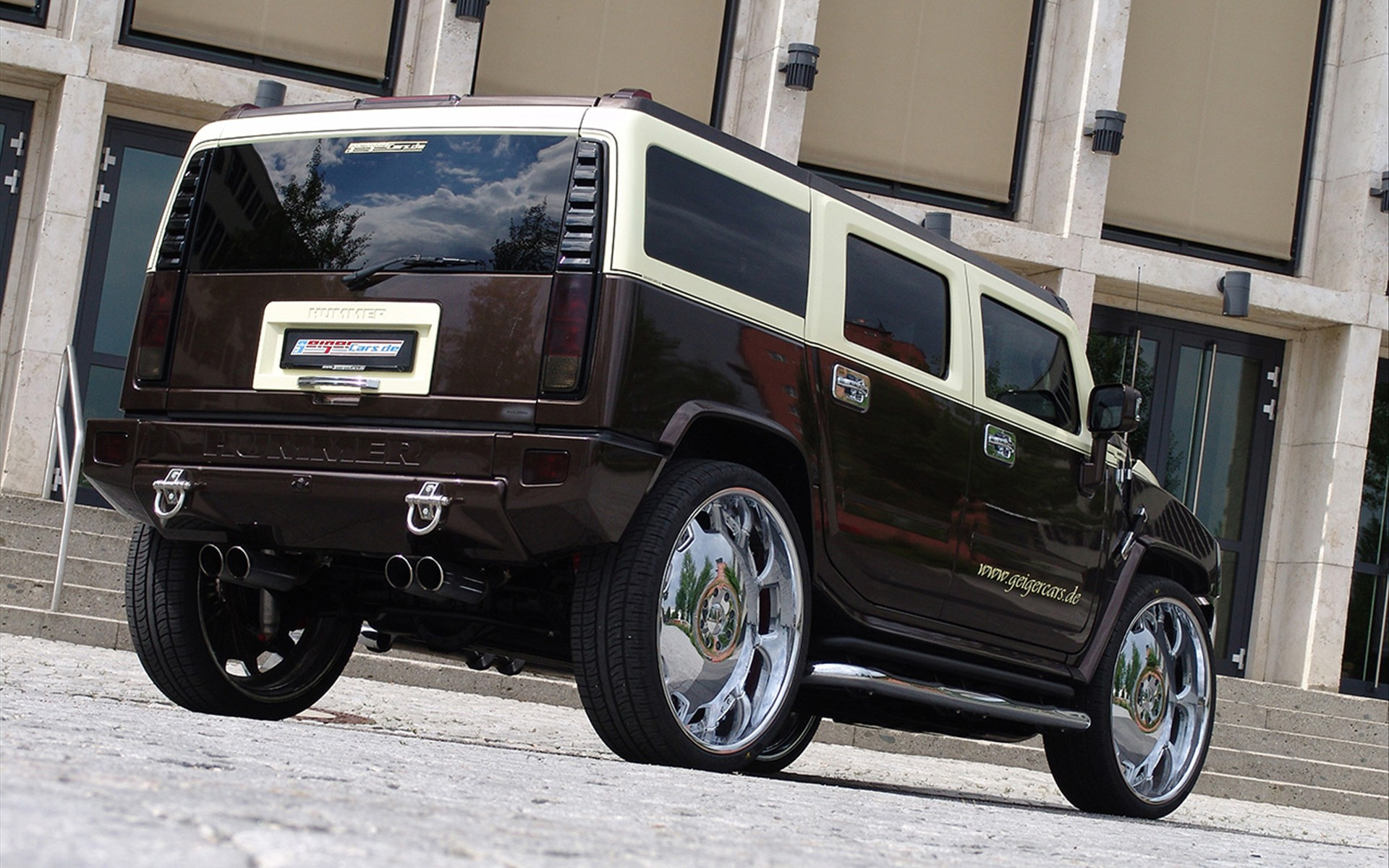 Hummer H2 Full HD Wallpaper and Background