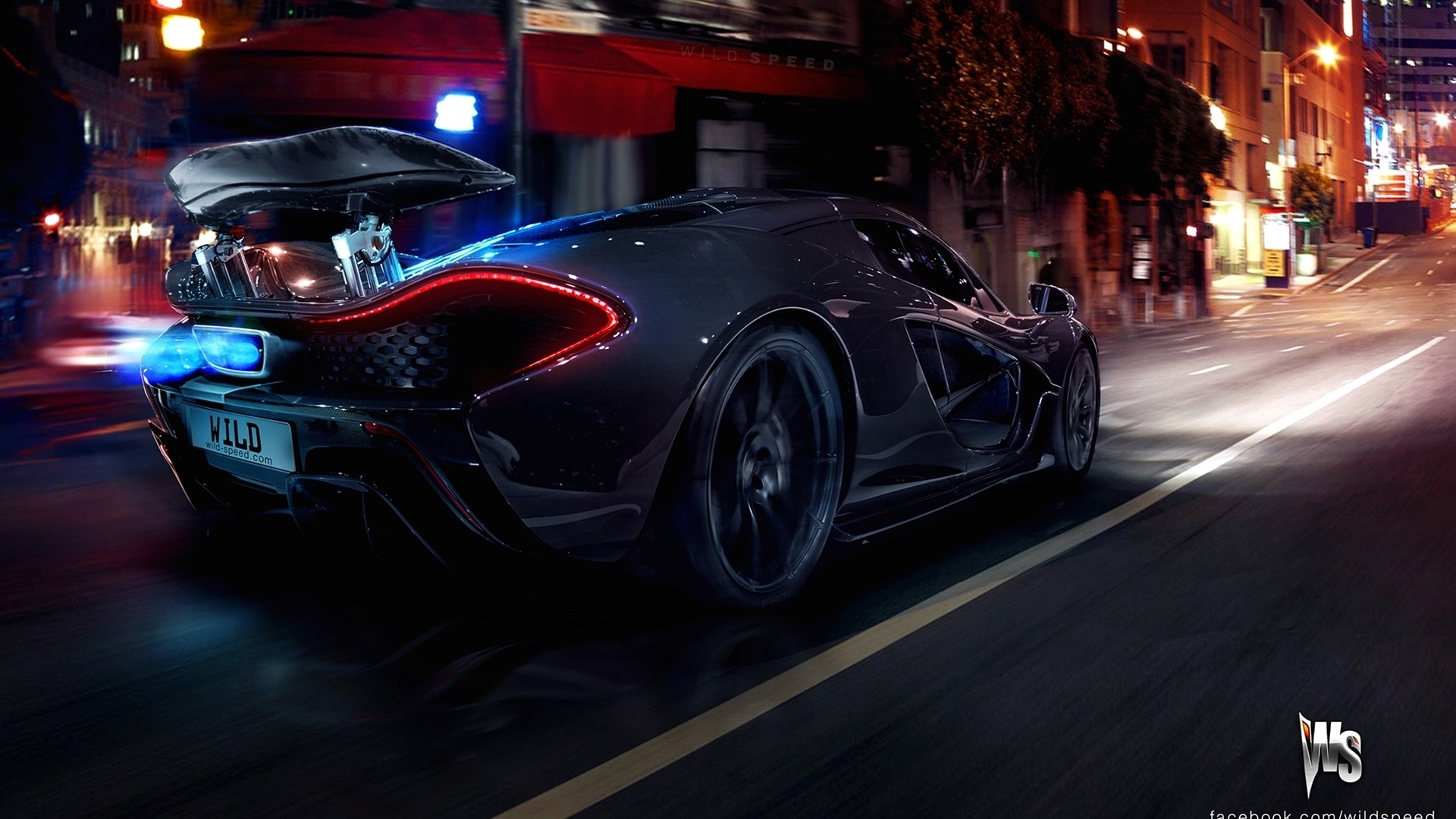 McLaren P1 HD Wallpaper Background Image 1920x1080