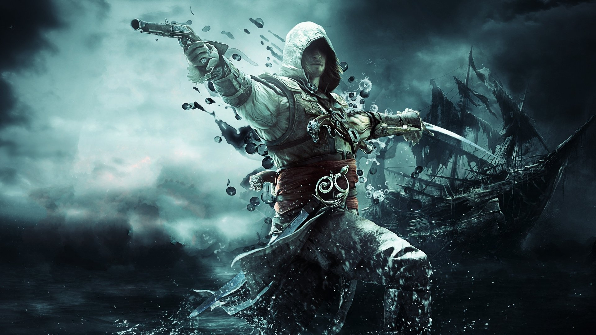 Assassins Creed IV Black Flag Fondo De Pantalla HD