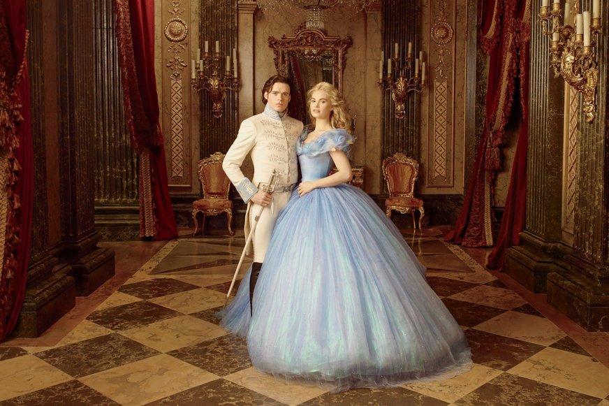 Cinderella (2015) HD Wallpaper | Background Image ...