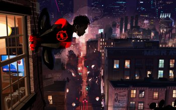 383 Spider Man Into The Spider Verse Hd Wallpapers Background Images Wallpaper Abyss