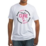 BreastCancerCure Fitted T-Shirt