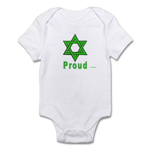 Proud Irish Jew Infant Bodysuit