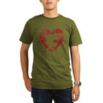 PIECE OF MY HEART Organic Men's T-Shirt (dark)