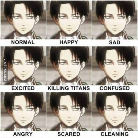 Levi S Room Cleaning Advice Aot Attack On Titan Follow Our
