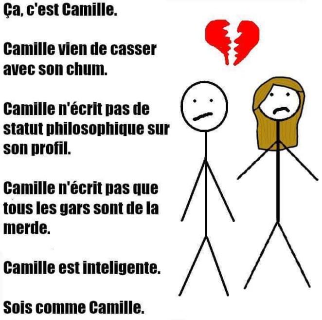 Soyez comme Camille
