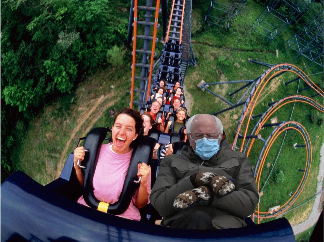 Roller Coaster Bernie - Meme by strako :) Memedroid