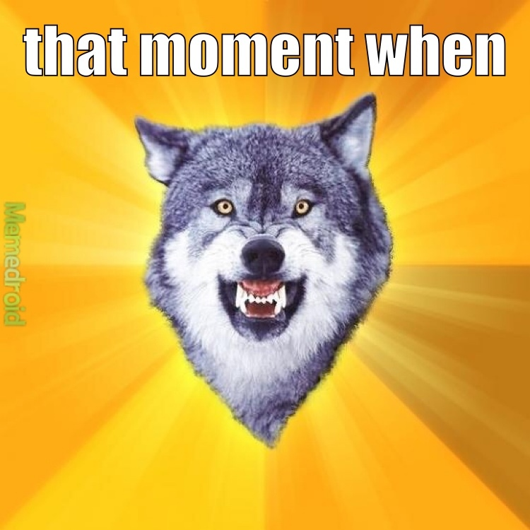 The Best Courage Wolf Memes Memedroid